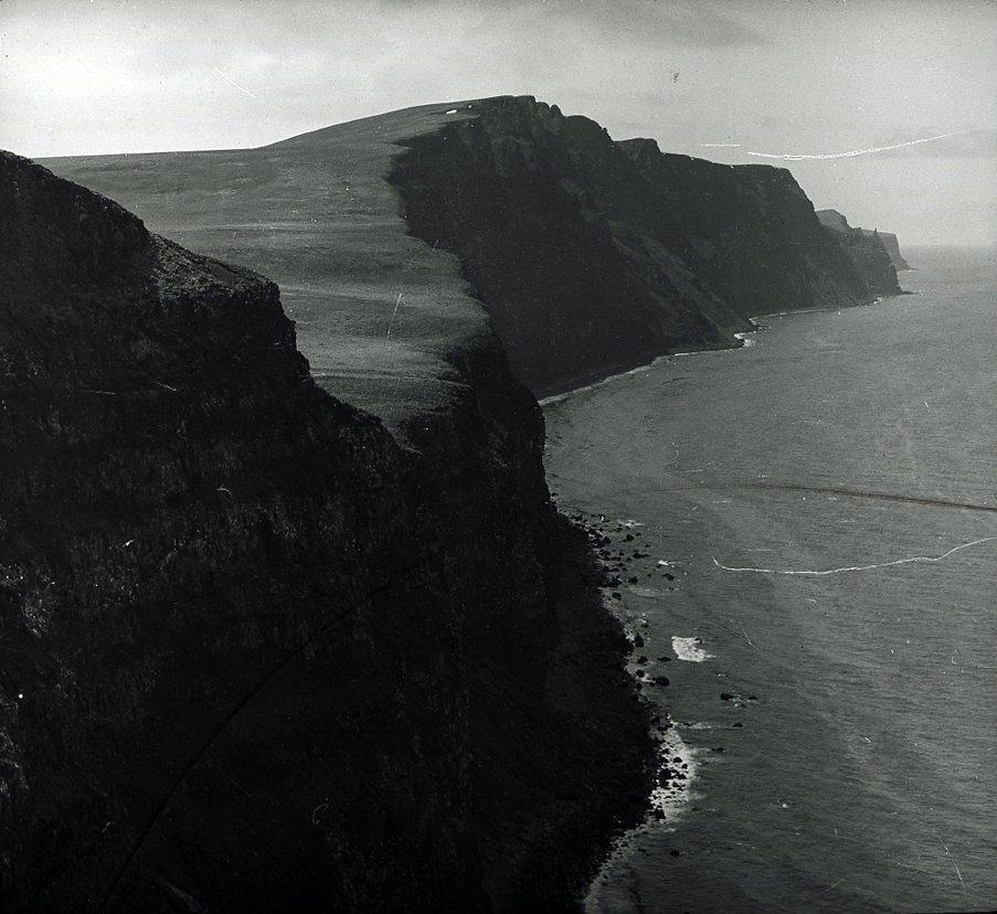 Unidentified coast line