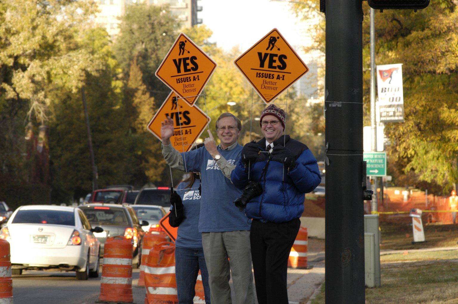 Honk and Wave Campaign for the Better Denver Bond Program