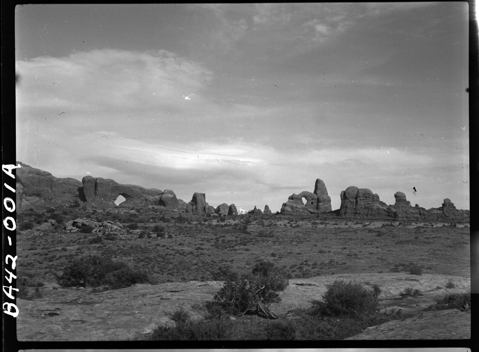 Fieldwork in Arches National Park