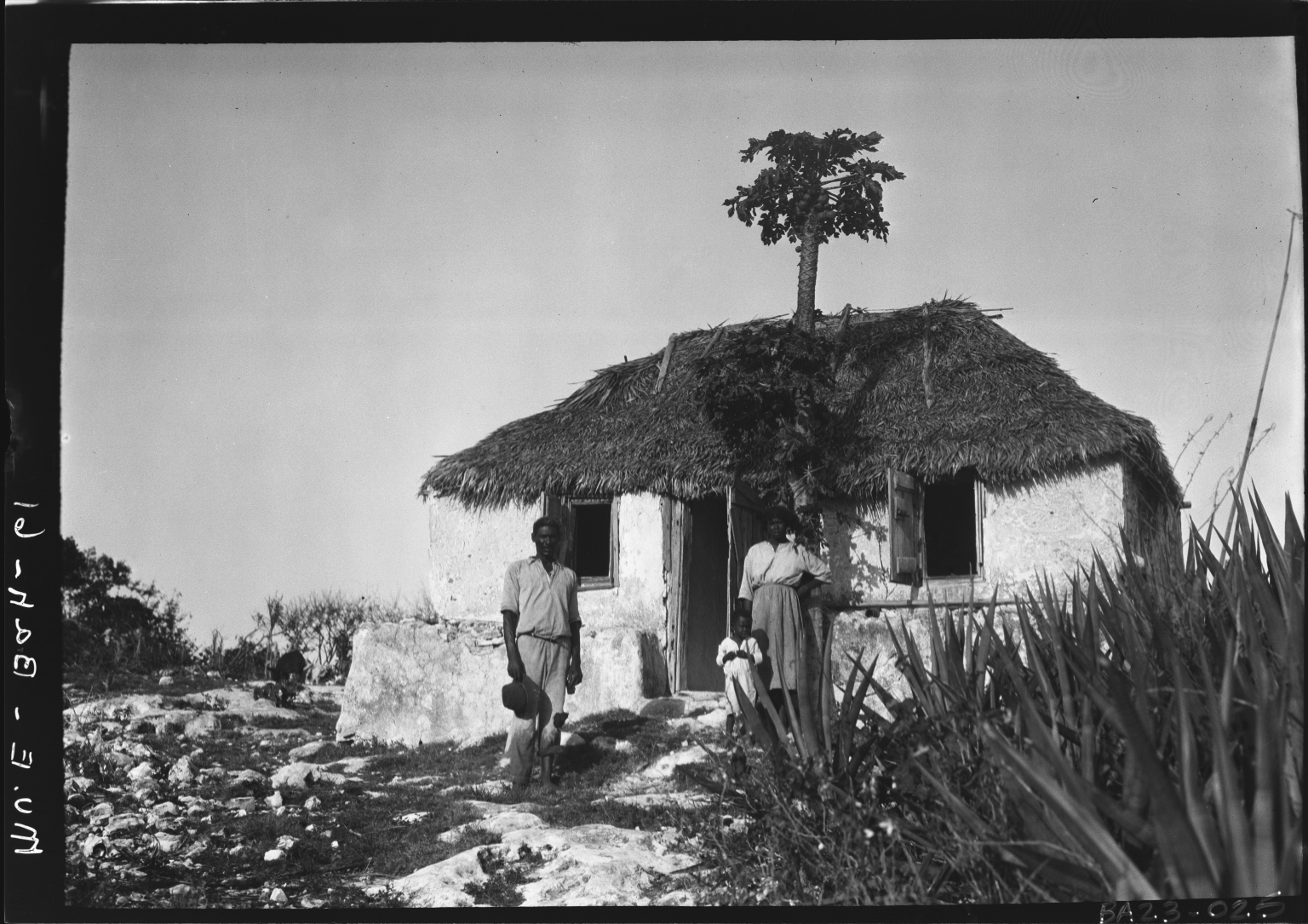 Alfred M. Bailey fieldwork in the Bahama Islands