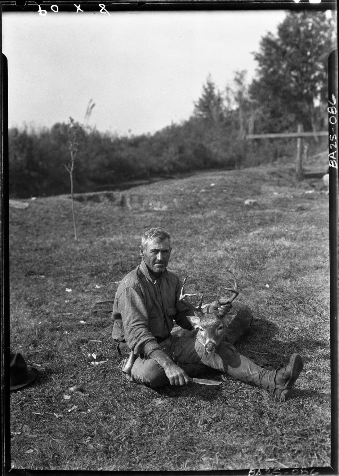 Alfred M. Bailey fieldwork in Louisiana