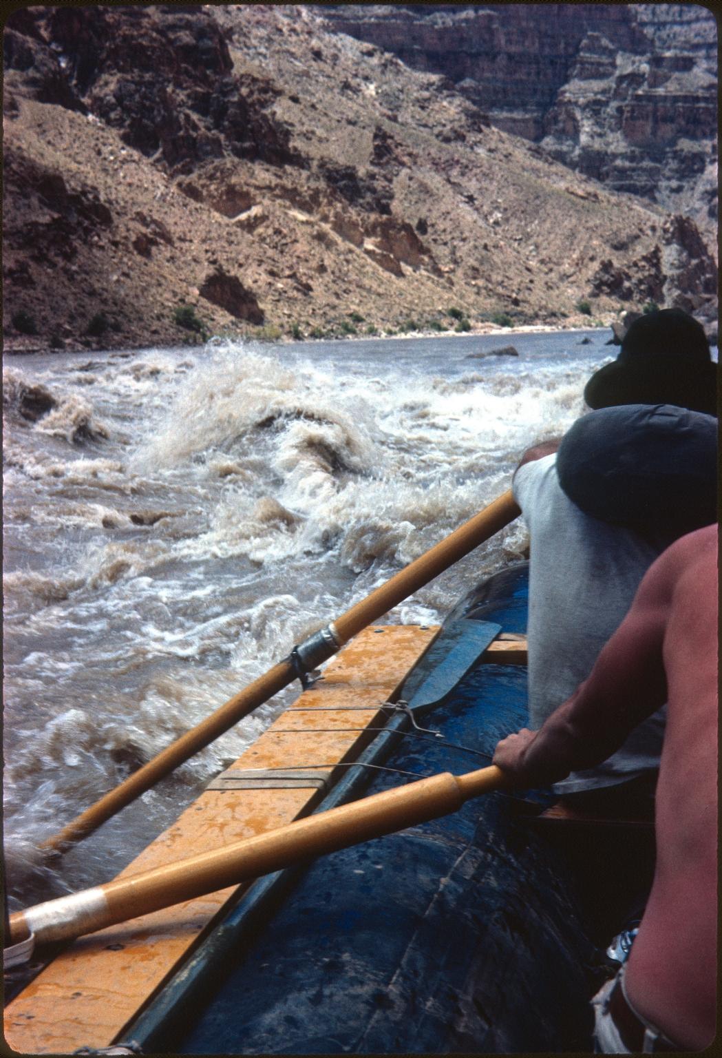 Navigating rapids