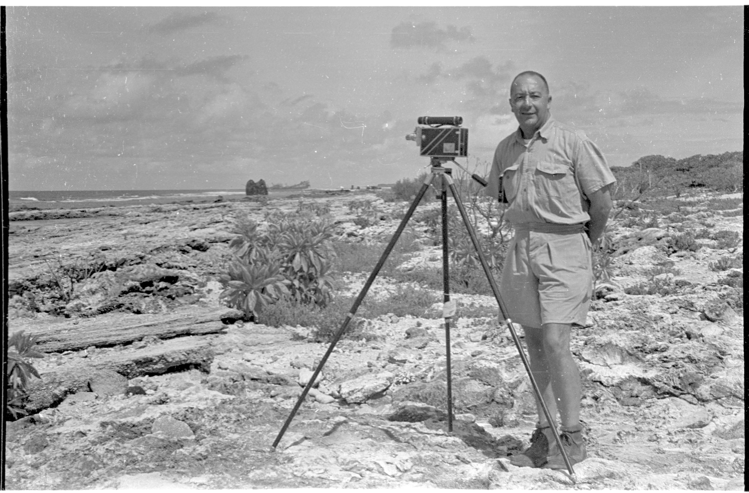 Fieldwork on Wake Island