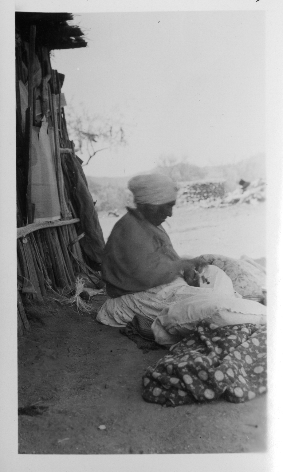 Unidentified Tohono O'odham Woman