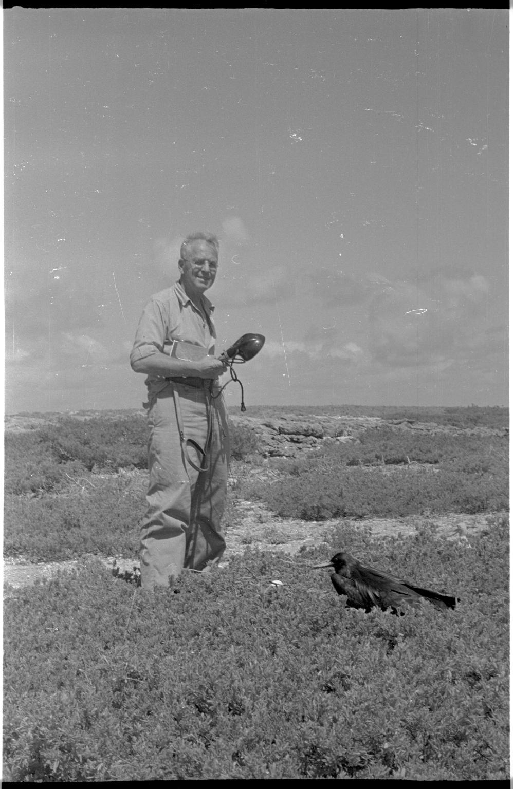 Fieldwork on Canton Island