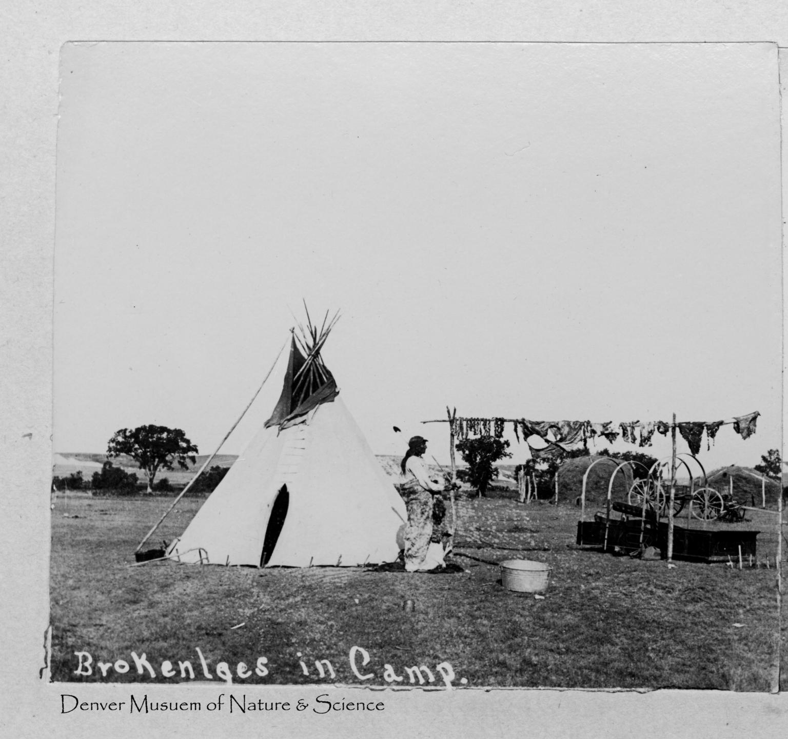 Sioux Indian Samuel Brokenlegs