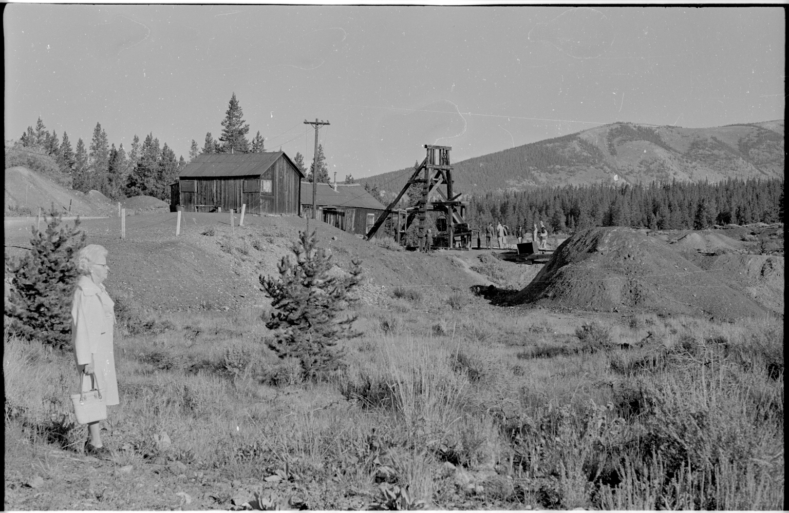 Muriel Bailey and Leadville Mine