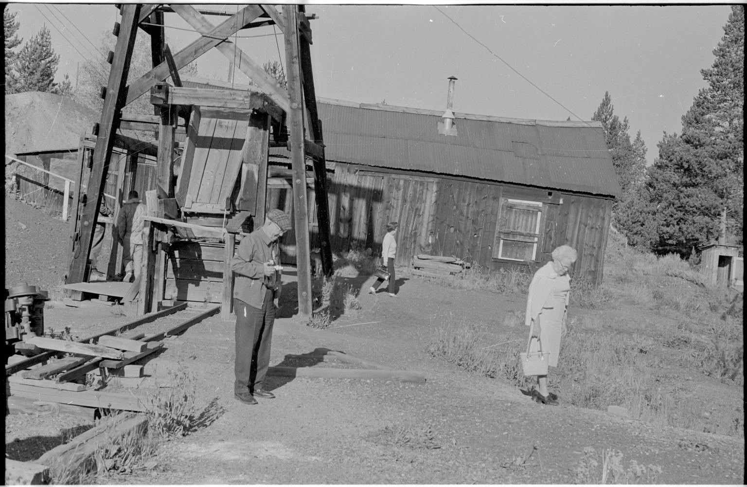 People and Leadville Mine
