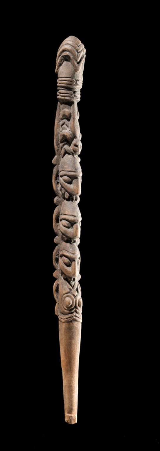 Staff from Sepik River