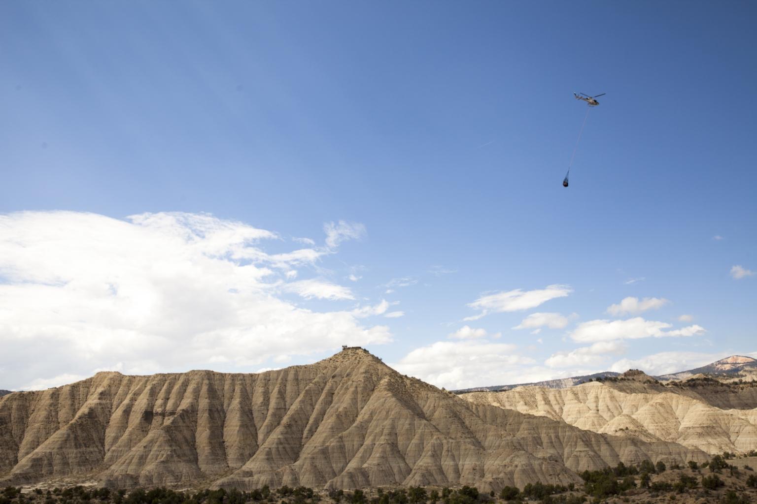 Fieldwork at Kaiparowits Plateau, Utah