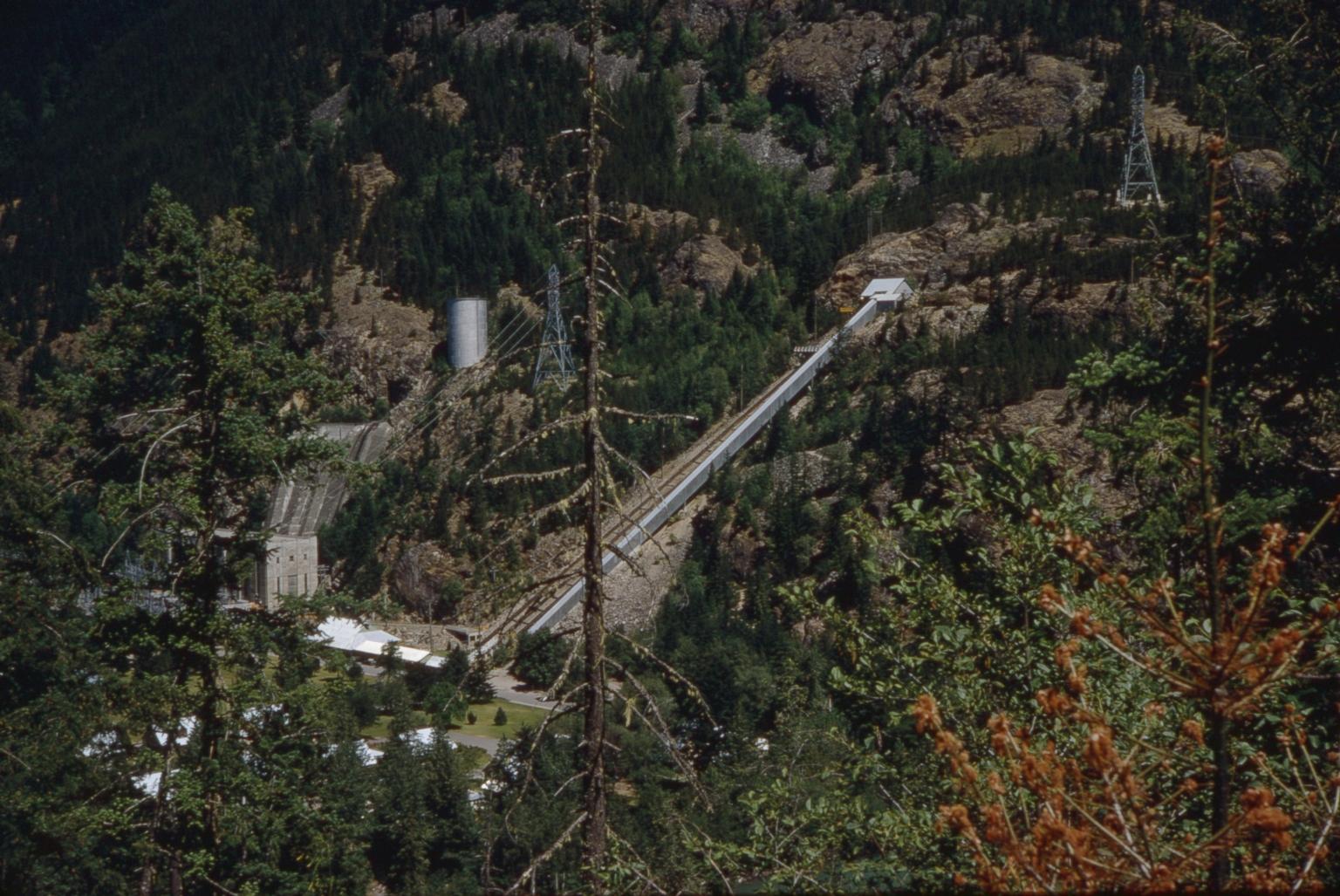 Powerhouse and incline railway