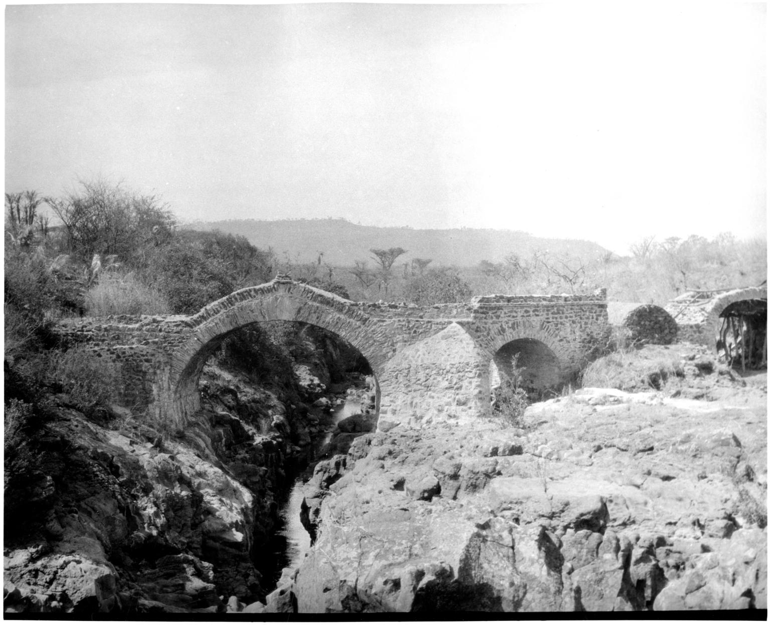 Portuguese Bridge in Gondar Province, Ethiopia