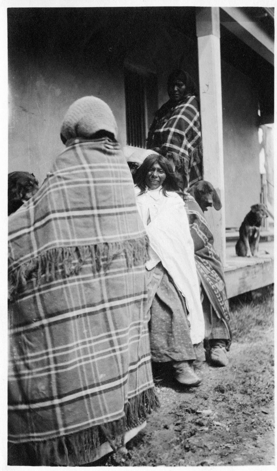 Portrait of Ute Mountain Ute women