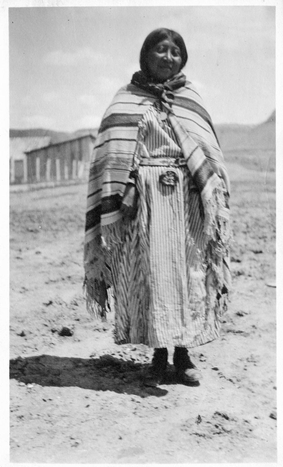 Portrait of a Ute Mountain Ute woman