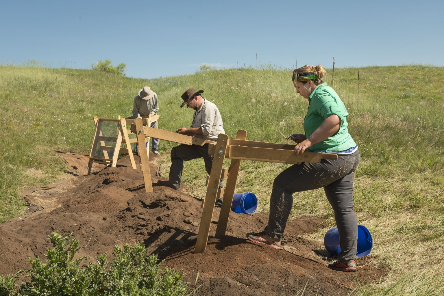 Fieldwork at Magic Mountain
