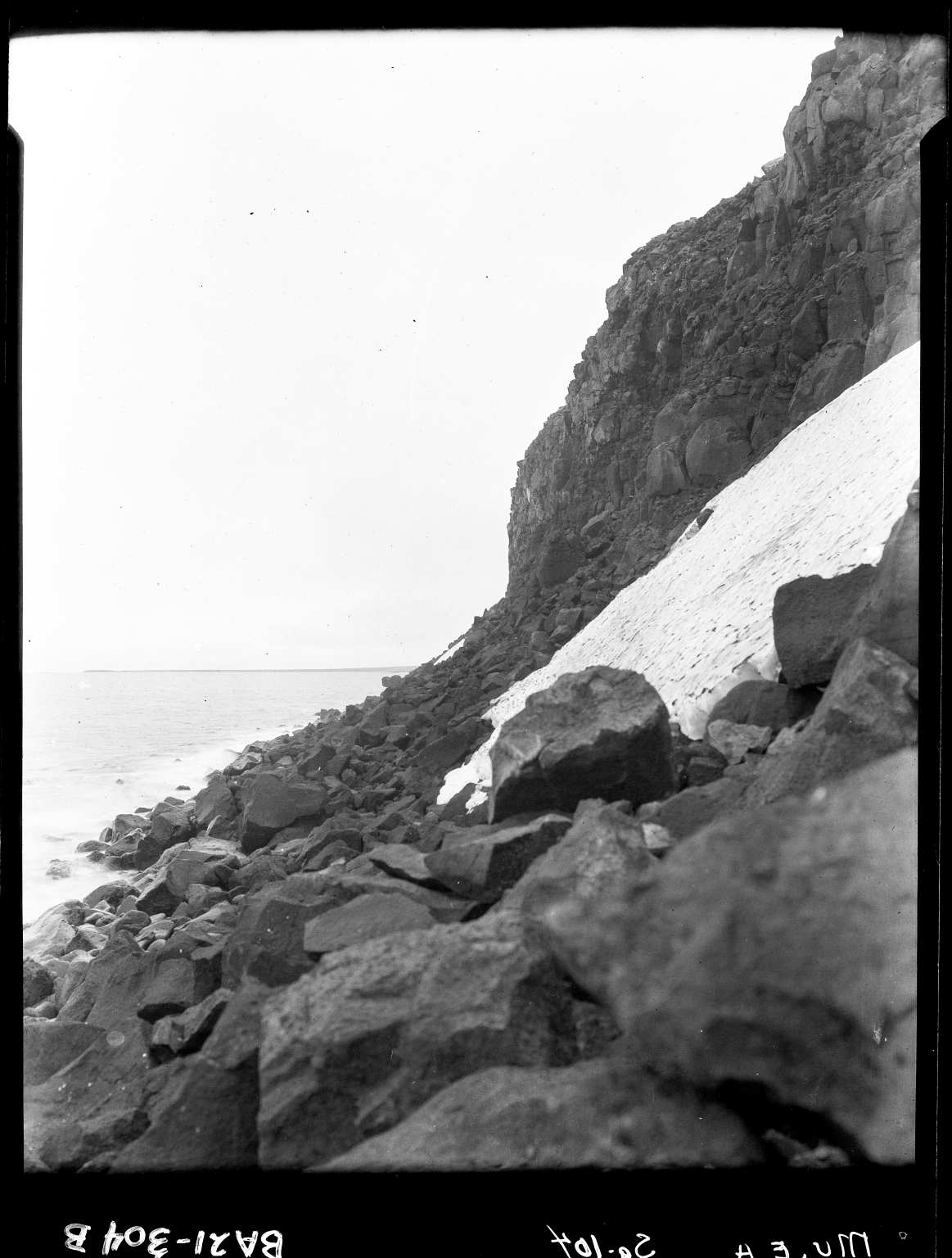 Cliff on Saint Lawrence Island