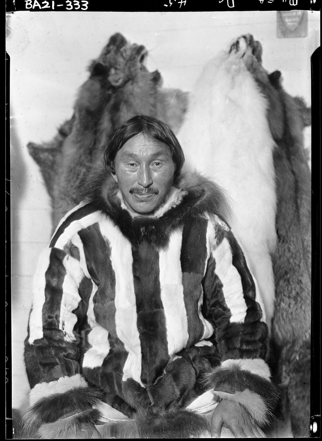 Waluk, hunter at Wainwright