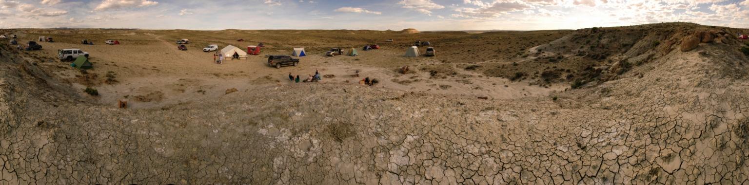 Teen Science Scholars in the Field. Wyoming, Natrona County, Buck Springs