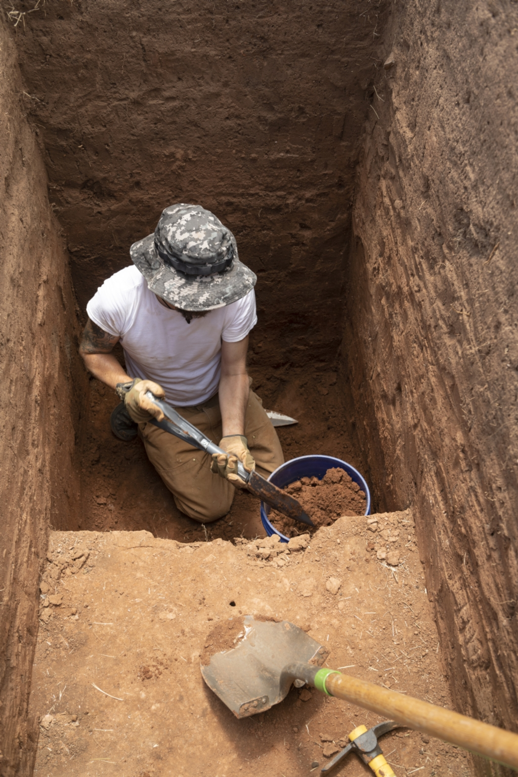 Magic Mountain archaeological dig site