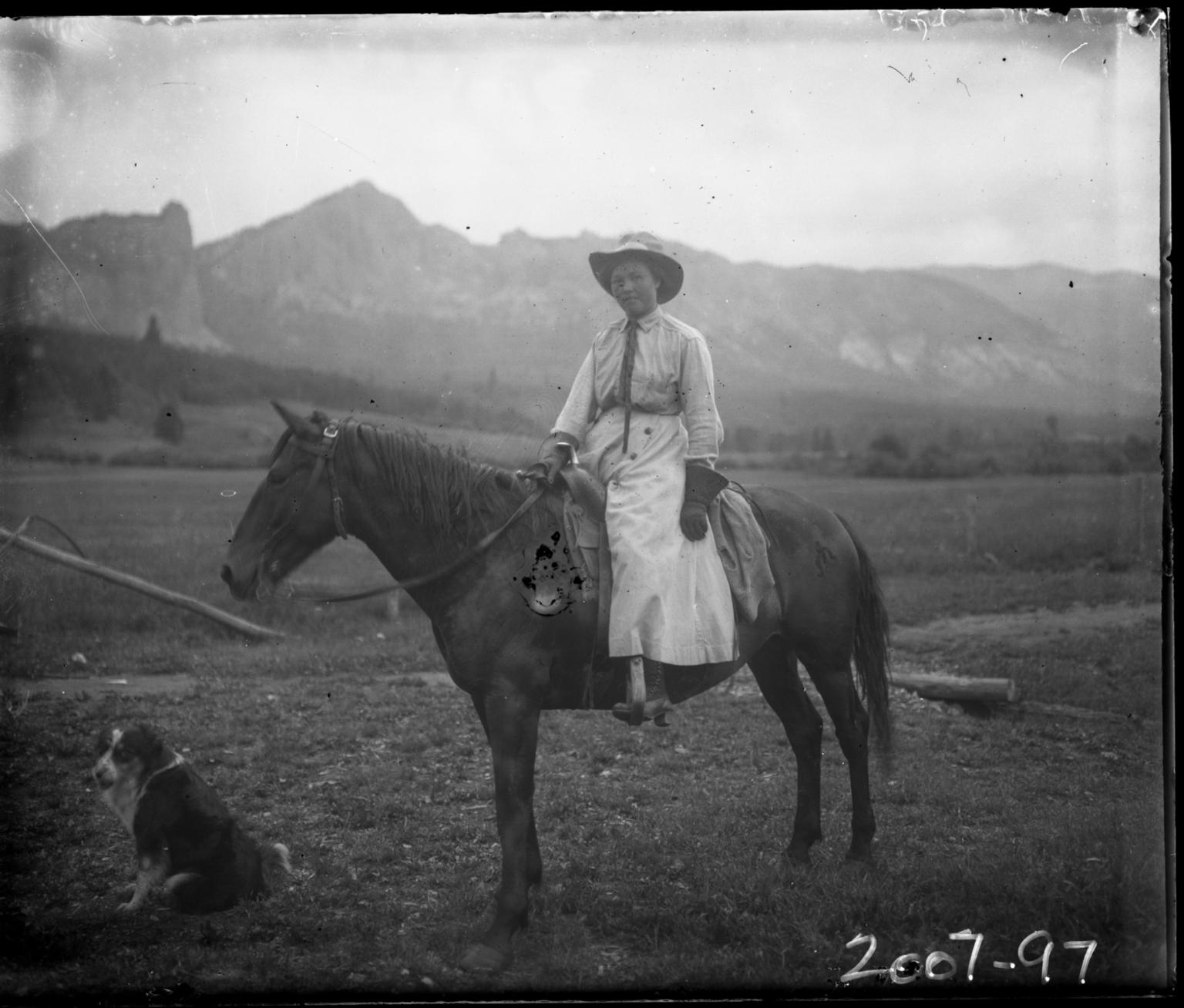 Man on horseback