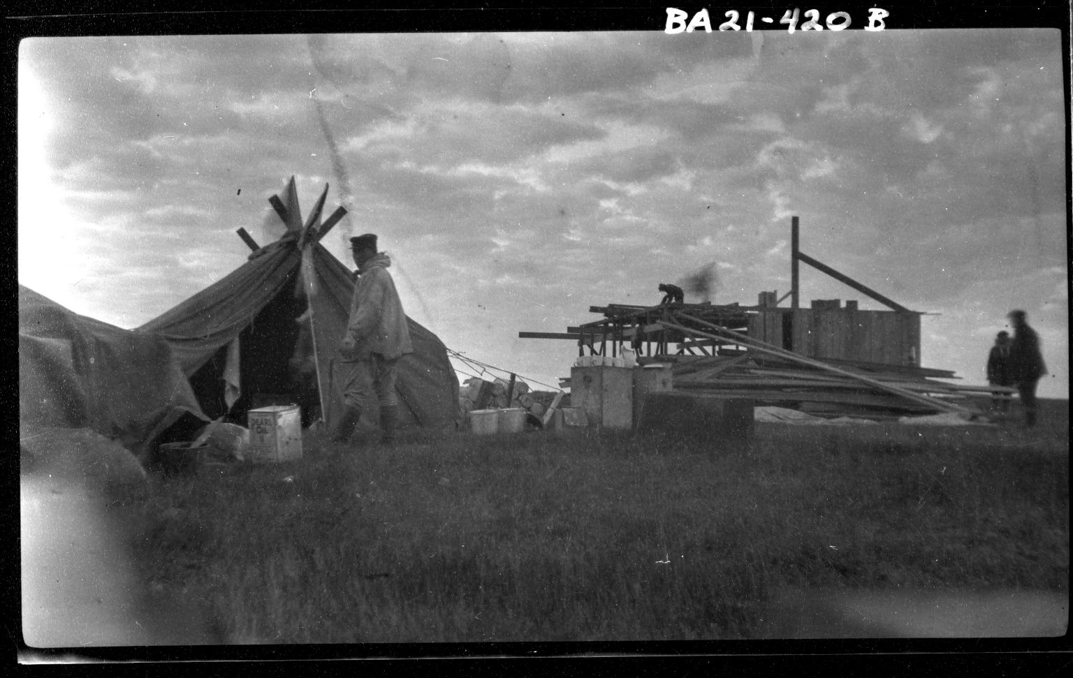 Amundsen at Camp