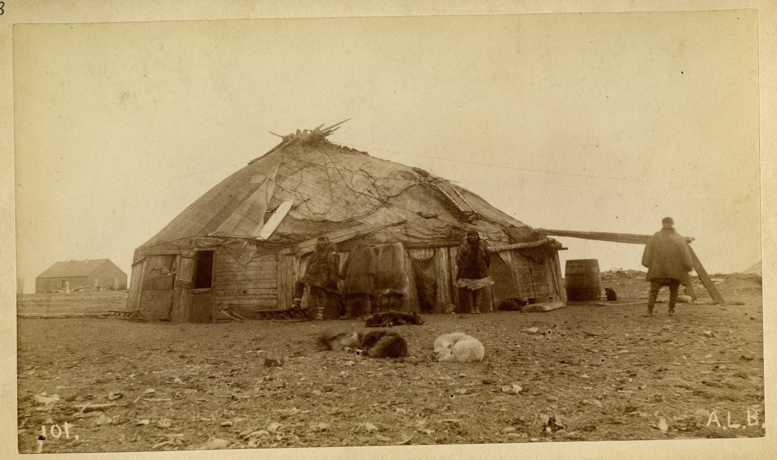 Siberian Native's House