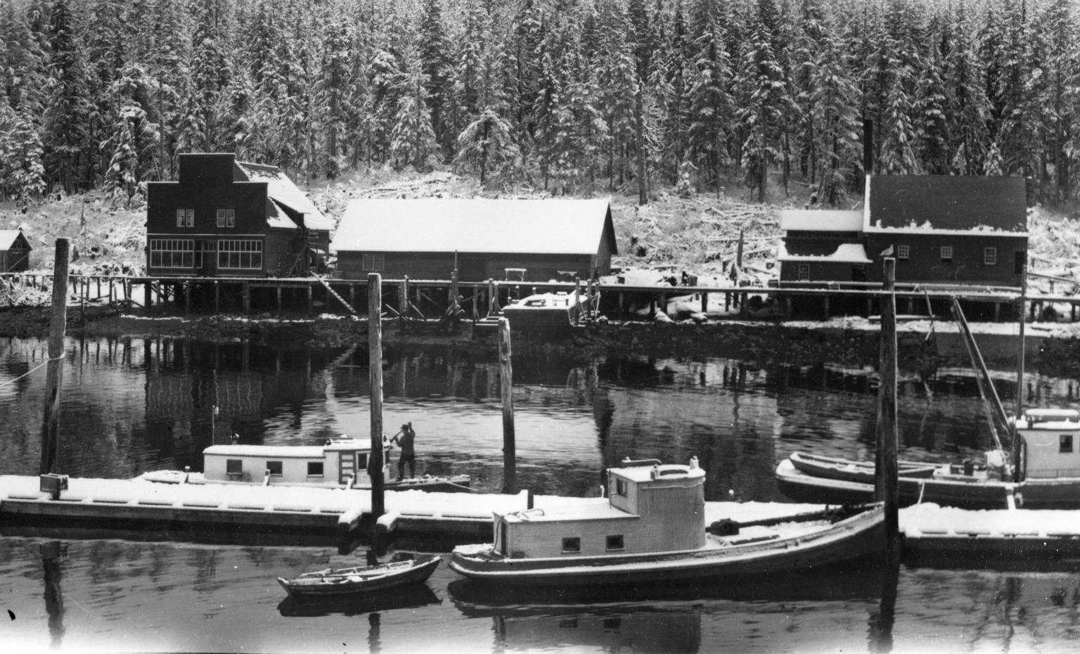 Winter Scow Bay