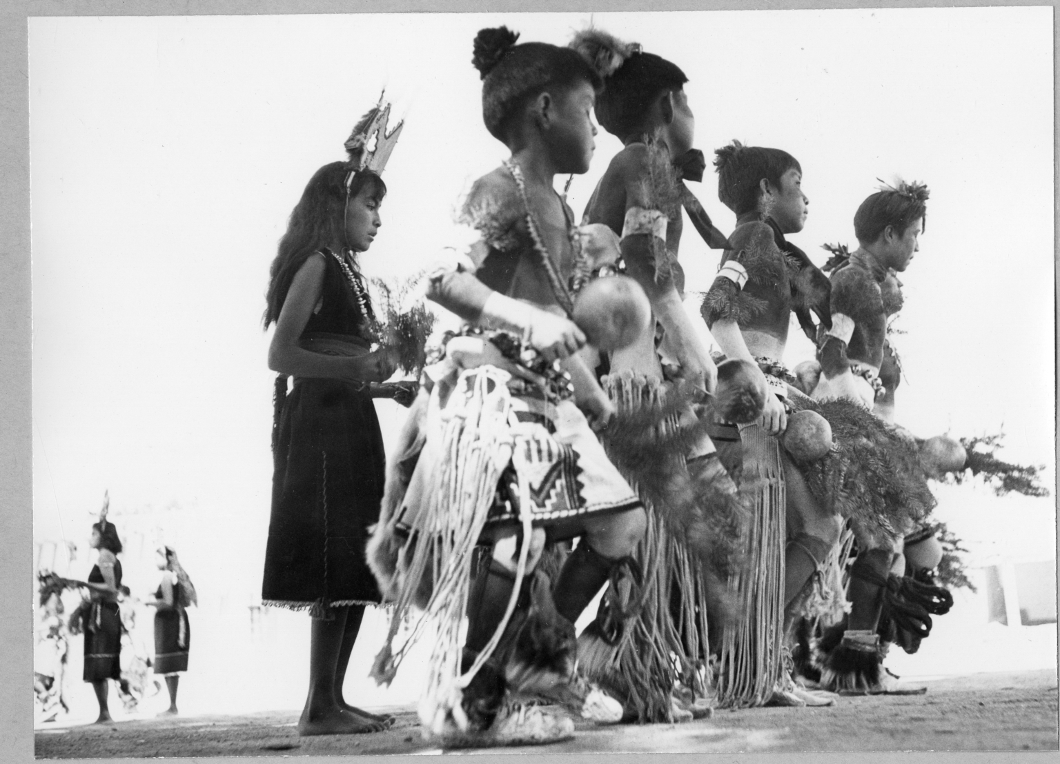 San Ildefonso Pueblo, Corn Dance, Children dancers